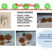 BISCOITOS E PETISCOS CASEIROS PARA PETS