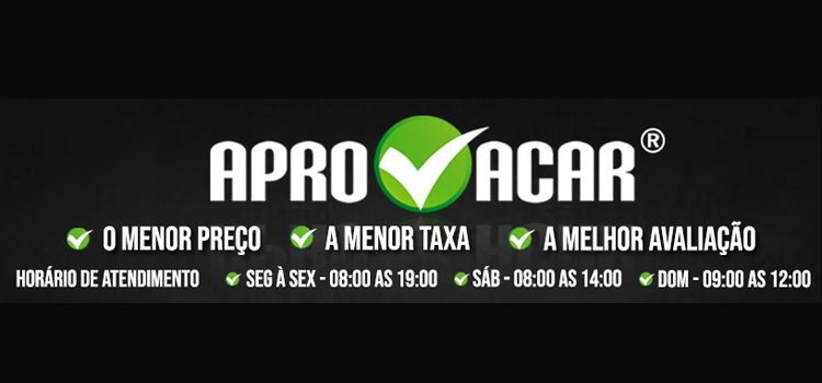Banner APROVACAR VEÍCULOS