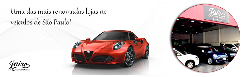 Banner Jairo Automóveis