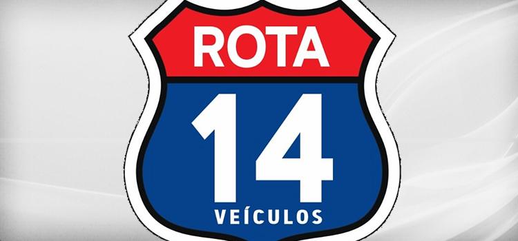 Banner Rota 14 Veículos