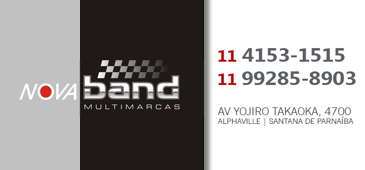 Banner NOVA BAND MULTIMARCAS