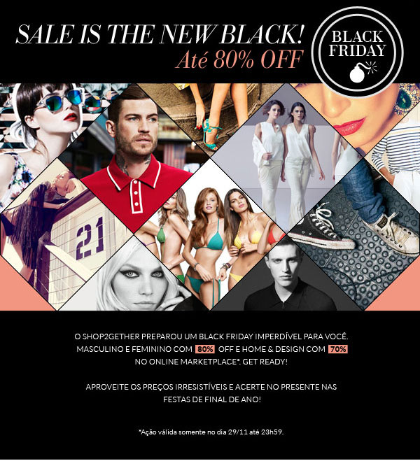 Black Friday e Cyber Monday Shop2gether
