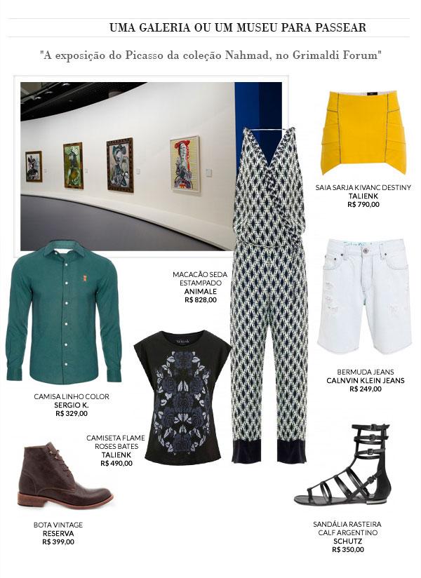 Uma galeria ou um museu