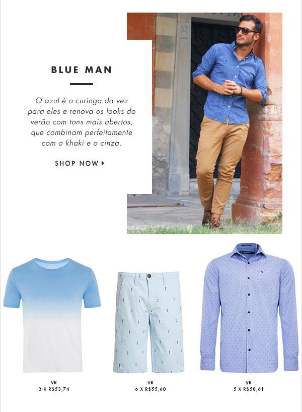BLUE MAN
