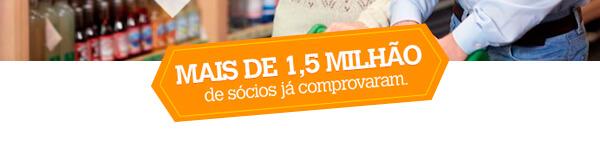 Mais de 1,5 milhão de sócios já comprovaram