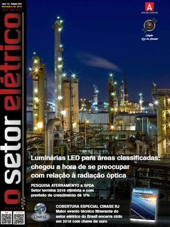 Lançamento da Engerey na Revista O Setor Elétrico: Remota Portátil Para Automação Industrial