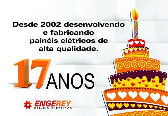 Engerey: há 17 anos desenvolvendo painéis elétricos de alta qualidade