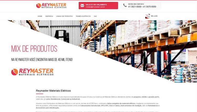Novo Site da Reymaster Materiais Elétricos permite fácil navegação e maior interação com clientes