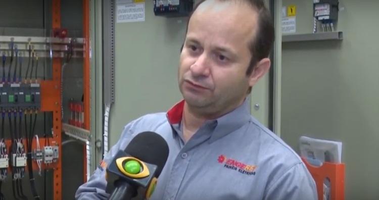 Gestão de Energia na Indústria com o uso de Banco de Capacitores - TV Band com Engerey