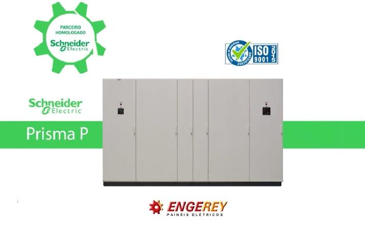 Conheça o Painel Elétrico Certificado Prisma Engerey / Schneider Electric.