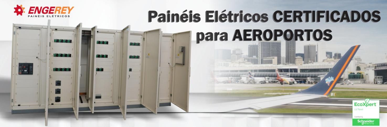 Painéis Certificados para Aeroportos