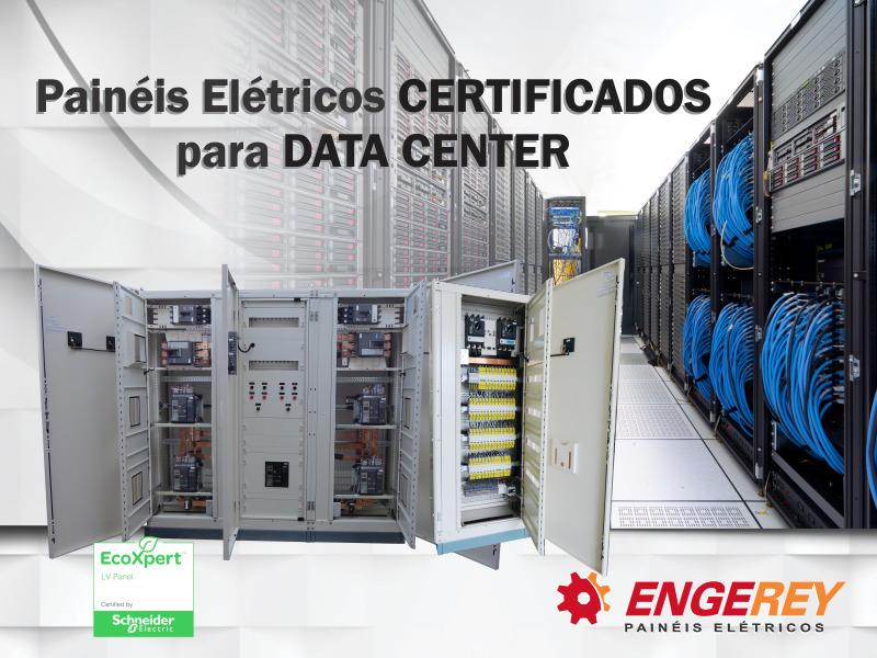 Painéis Certificados para Data Center
