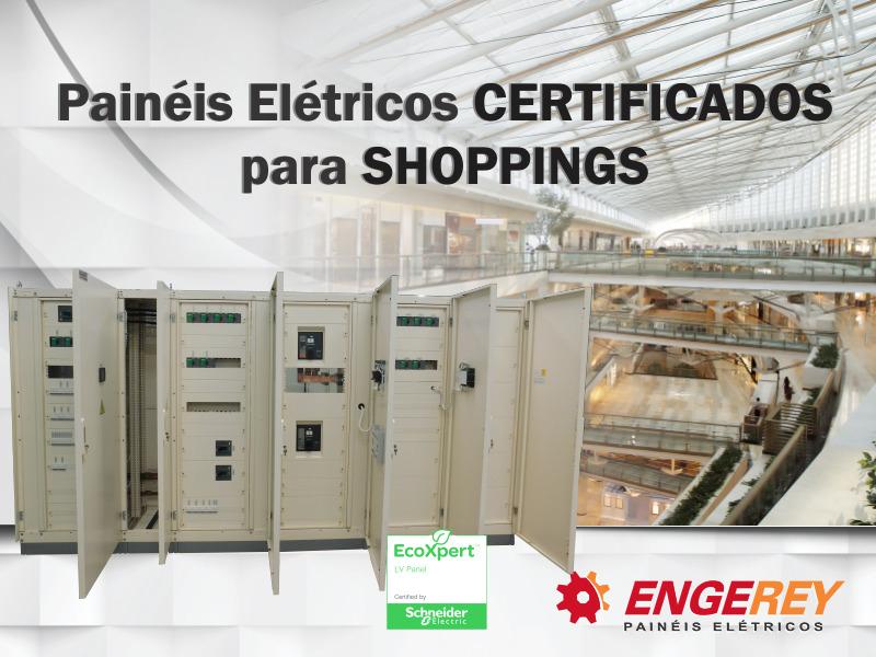 Painéis Certificados para Shoppings