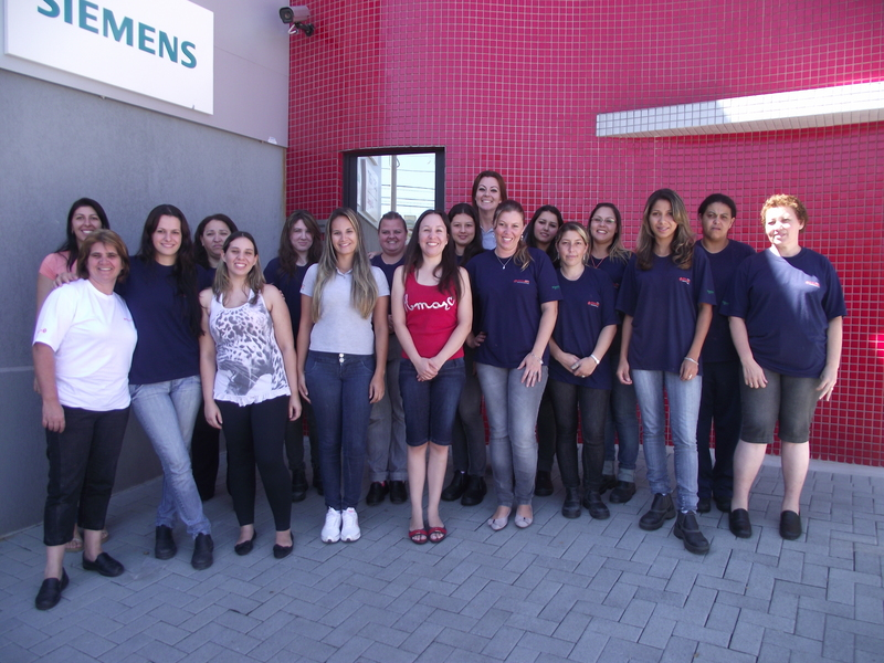 Equipe feminina da Engerey em 2012
