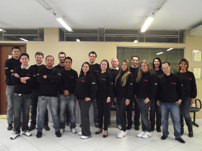 Equipe da Engerey em 2012