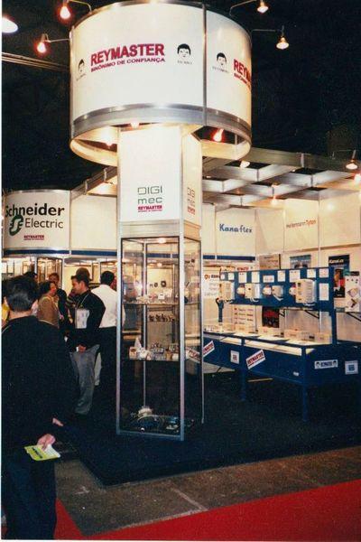 Stand da Reymaster na ELETRON 2001
