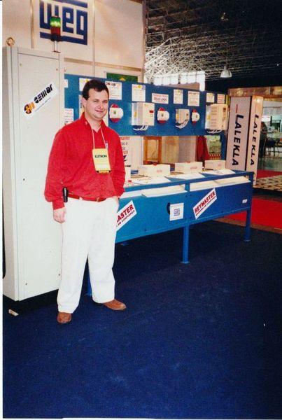 Fábio Amaral na ELETRON 2001