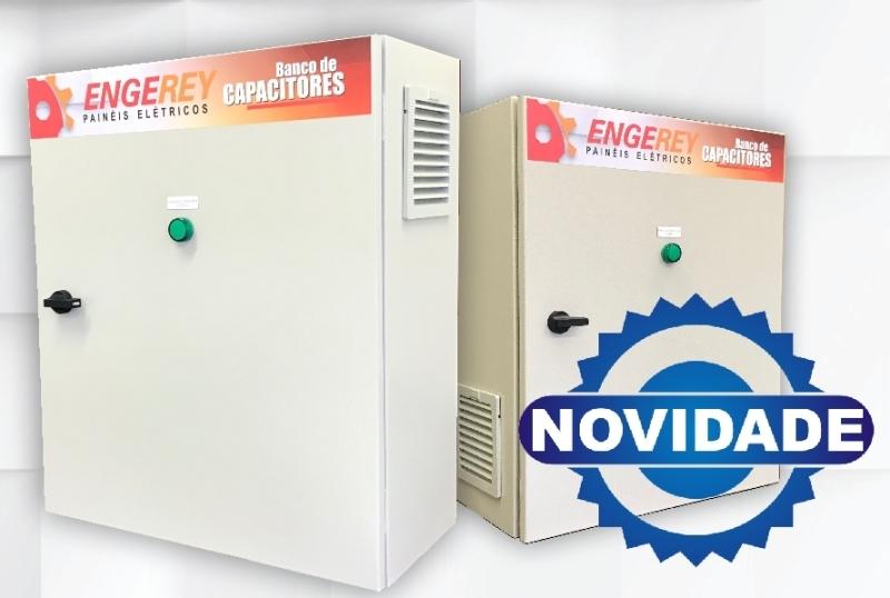 Engerey lança nova Linha de Bancos de Capacitores Portáteis, com configurações padrões.