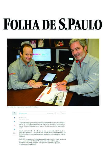 Um dos principais jornais do País destacou a iniciativa de criação do app Be-a-bá da Elétrica