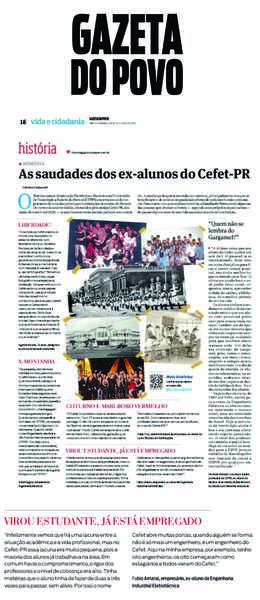 Engerey é fonte constante na Gazeta do Povo