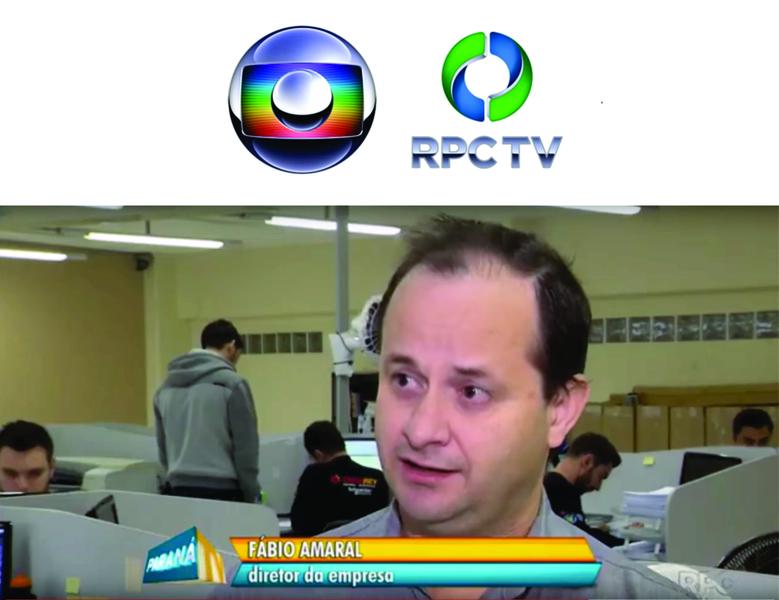 Paraná TV entrevistou o diretor da Engerey Fabio Amaral sobre ações de sustentabilidade na empresa.