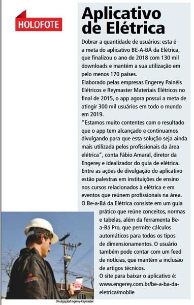 Crescimento do número de usuários do app Be-a-Bá da Elétrica recebeu destaque na Revista Potência