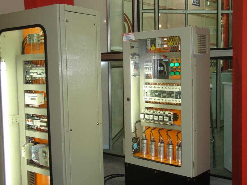 Painéis Elétricos da Engerey em exposição na ELETRON 2007