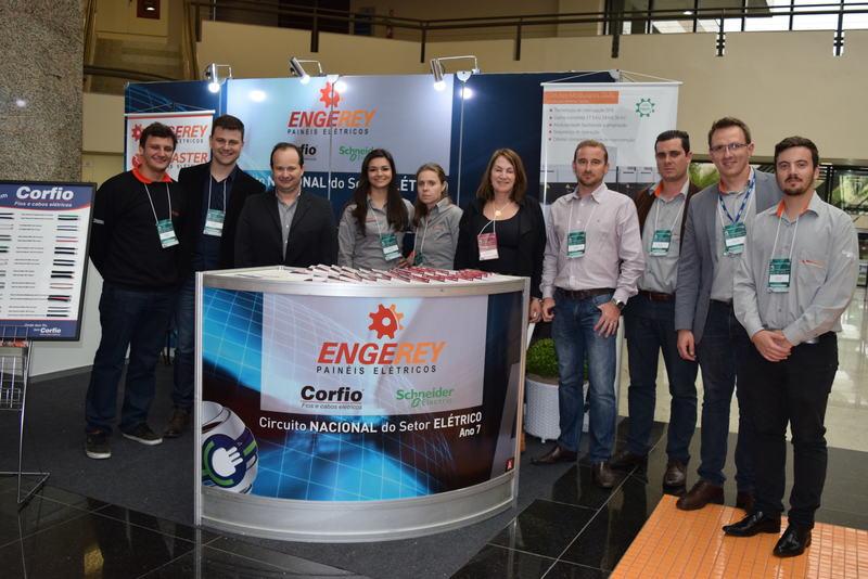 Engerey recebe destaque em evento do setor elétrico