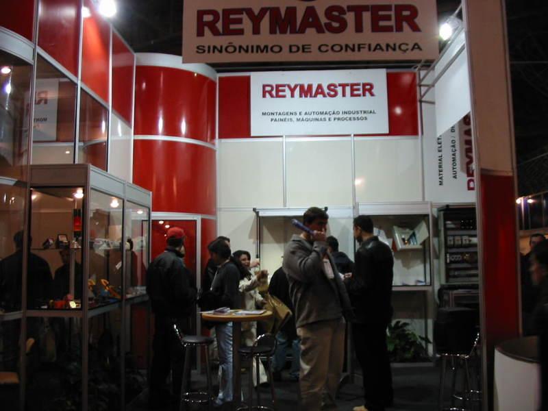 Stand da Reymaster na ELETRON 2003