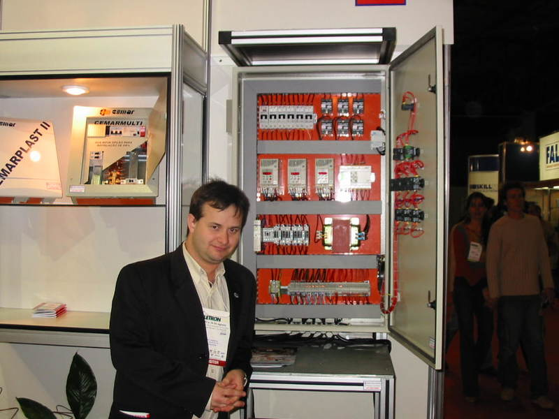 Fábio Amaral na ELETRON 2003