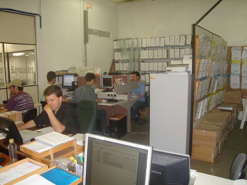 Área Comercial e Administrativa da Engerey em 2006