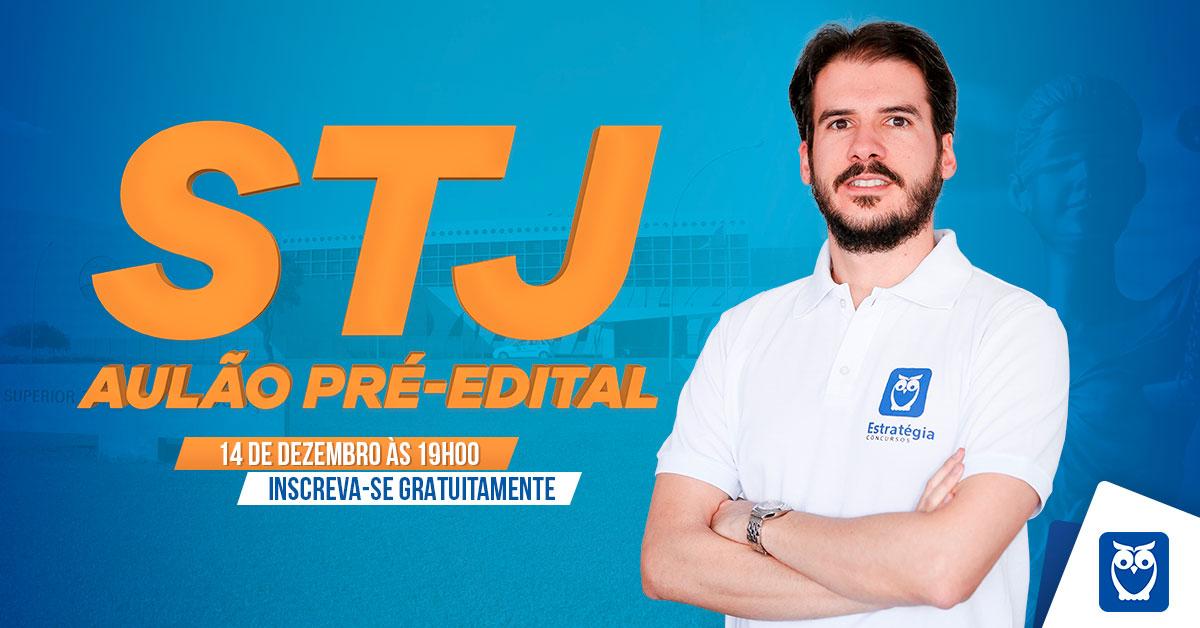 Stj Aulao Pre Edital Estrategia Concursos
