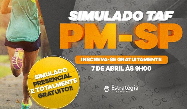 SIMULADO TAF PM-SP