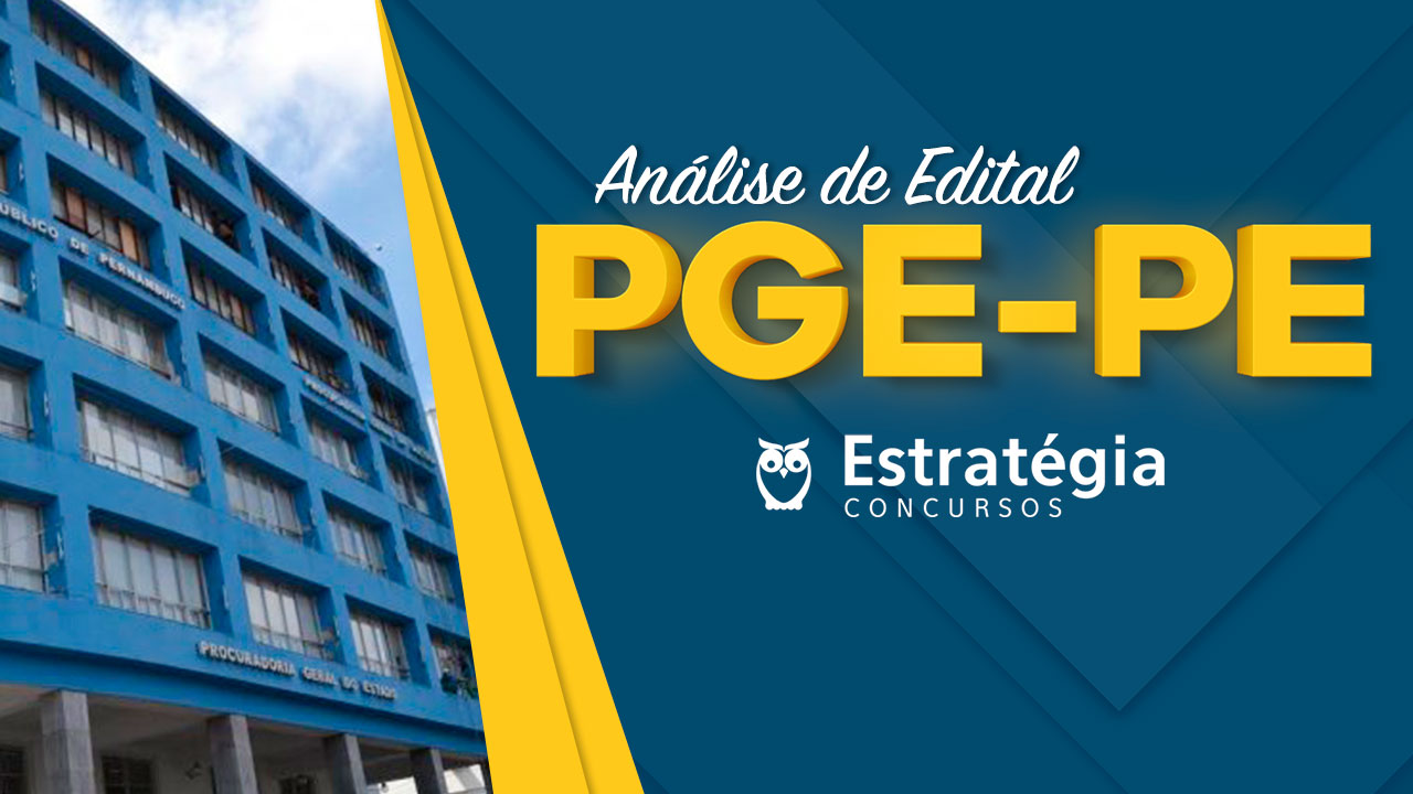 Concurso PGE-PE