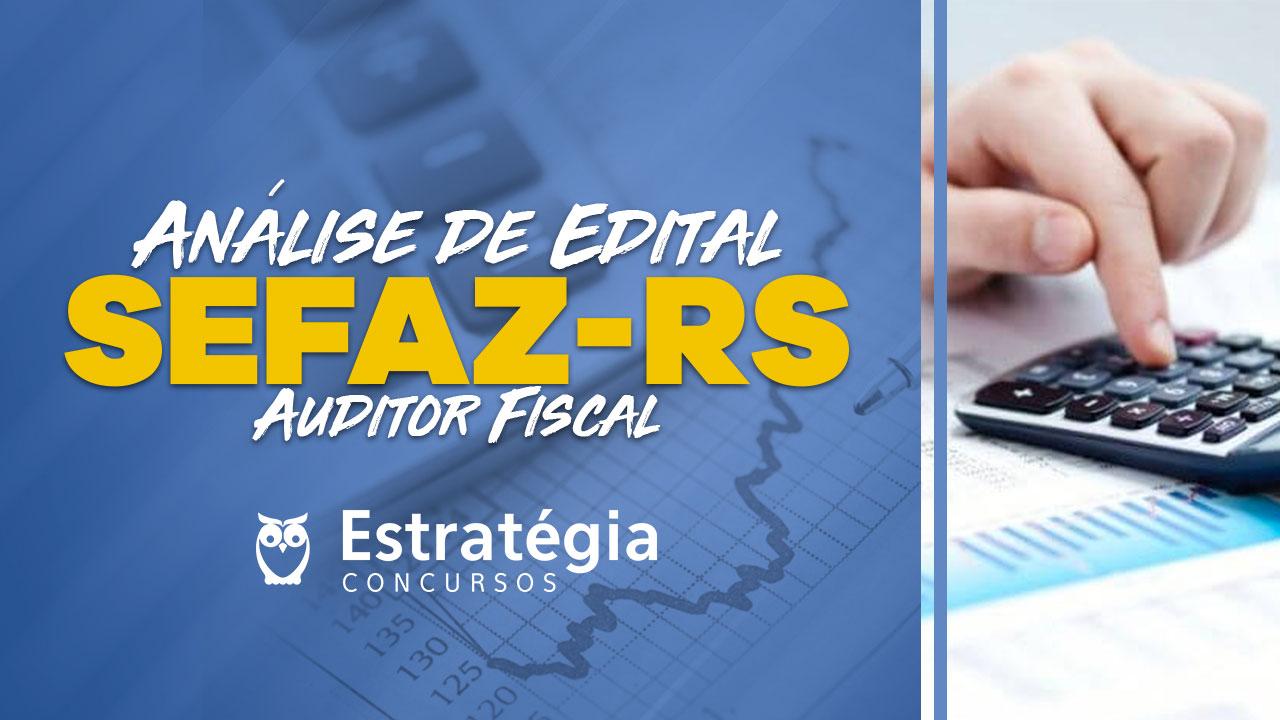 Concurso SEFAZ-RS