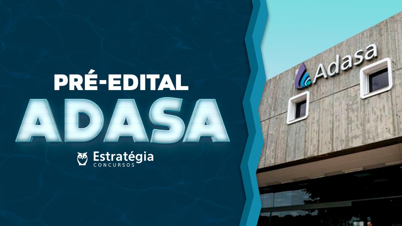 Pré-Edital ADASA