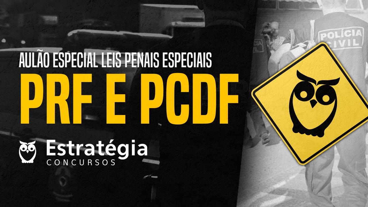 Concurso PRF e PCDF