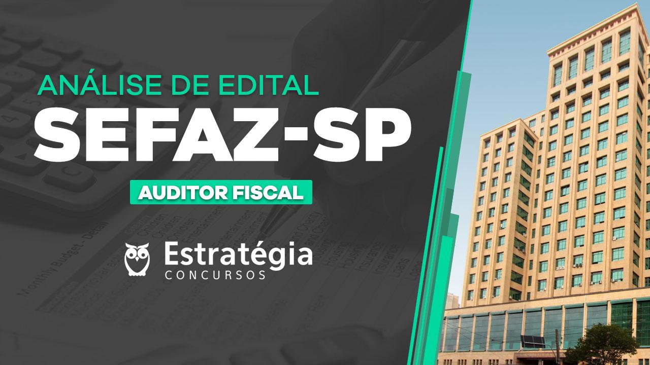 Concurso SEFAZ-SP