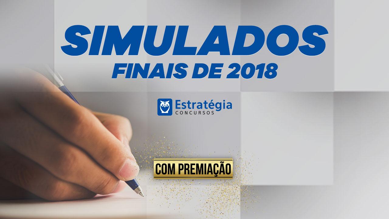 Concurso Simulados Finais de 2018
