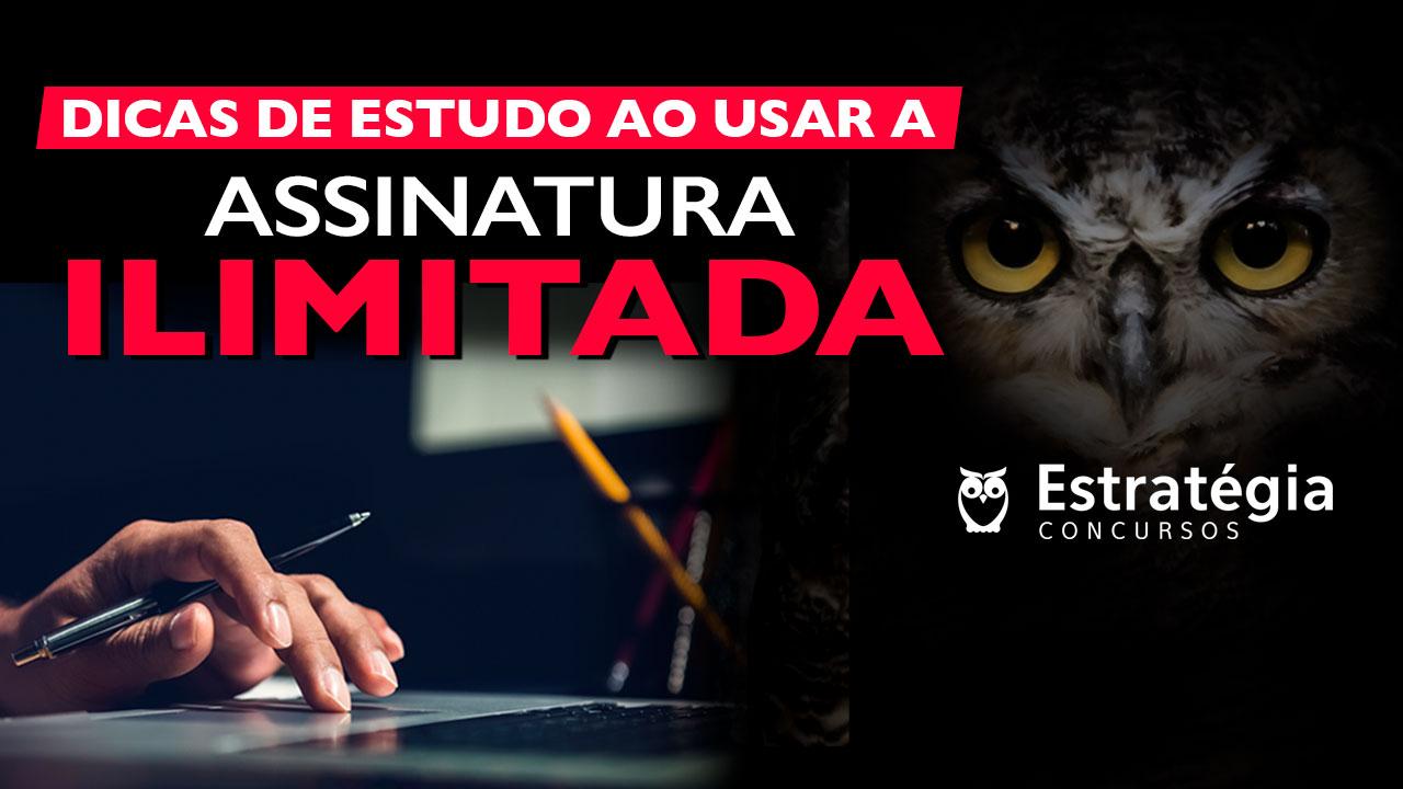 Concurso ASSINATURA ILIMITADA