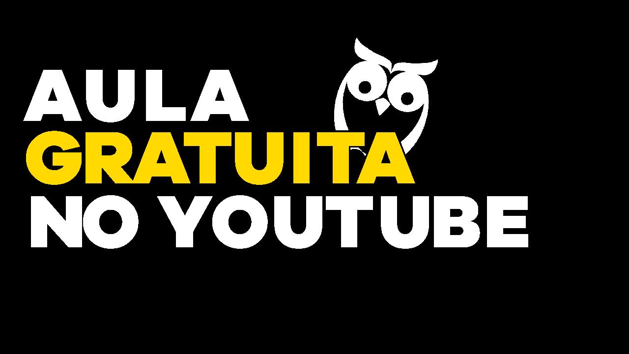 Aulas Gratuitas no YouTube
