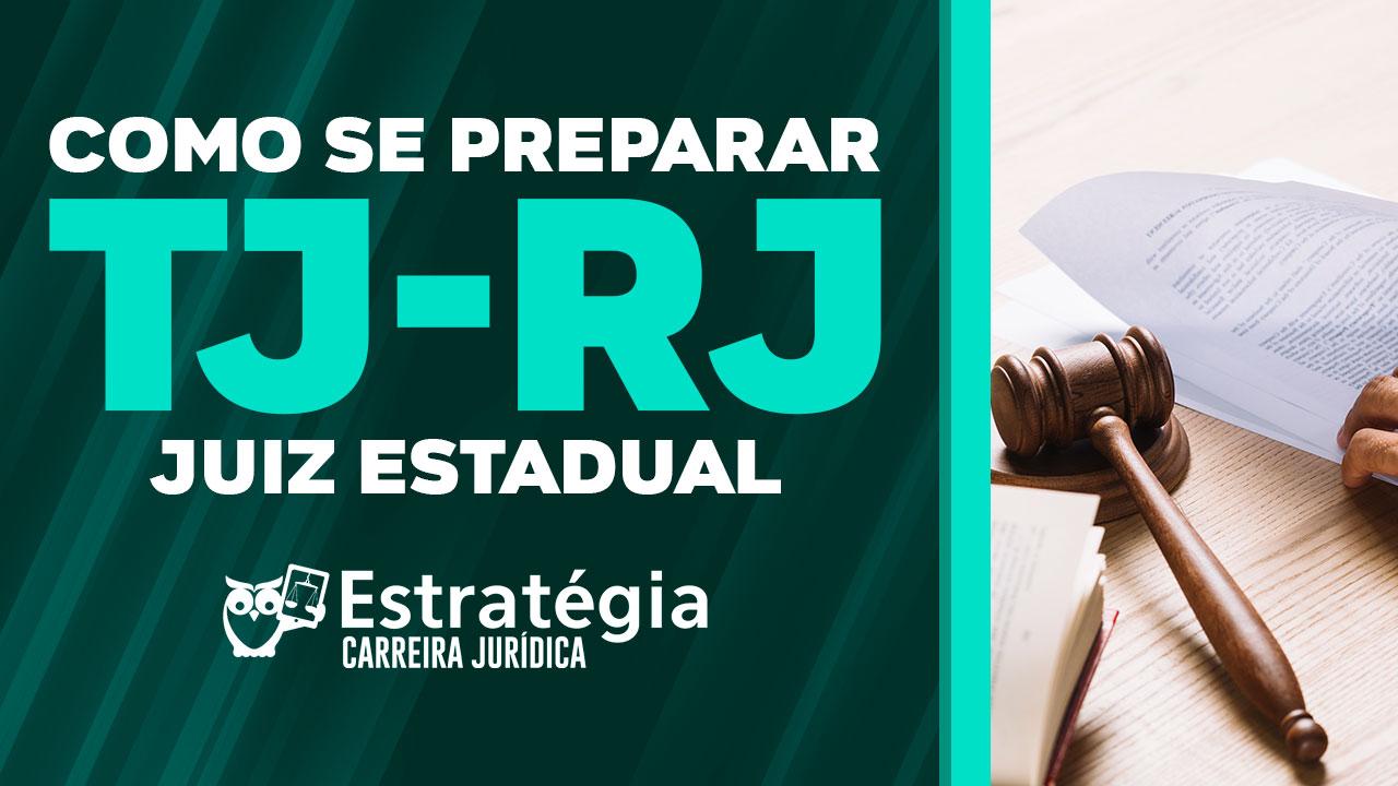 TJ-RJ Juiz Estadual