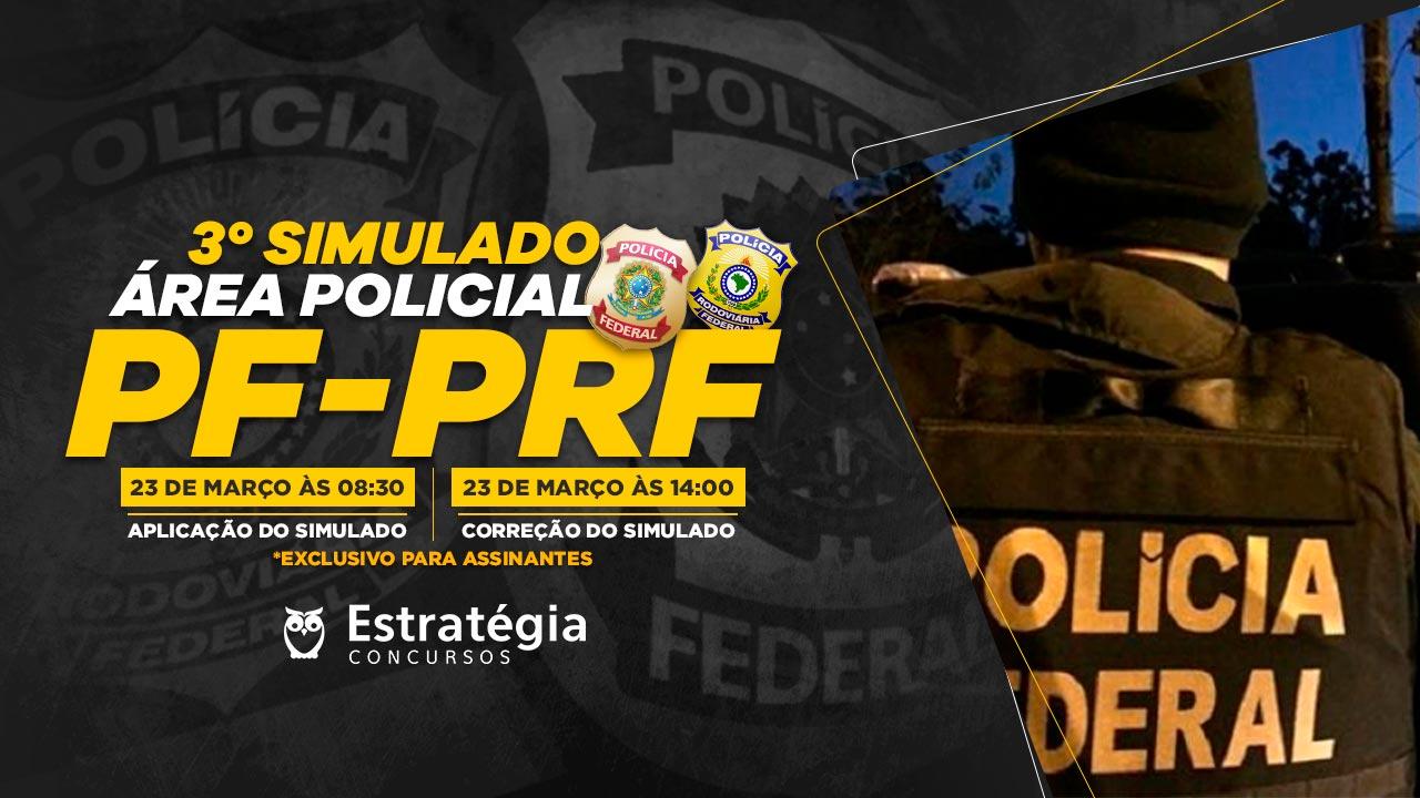 Simulado Área Policial