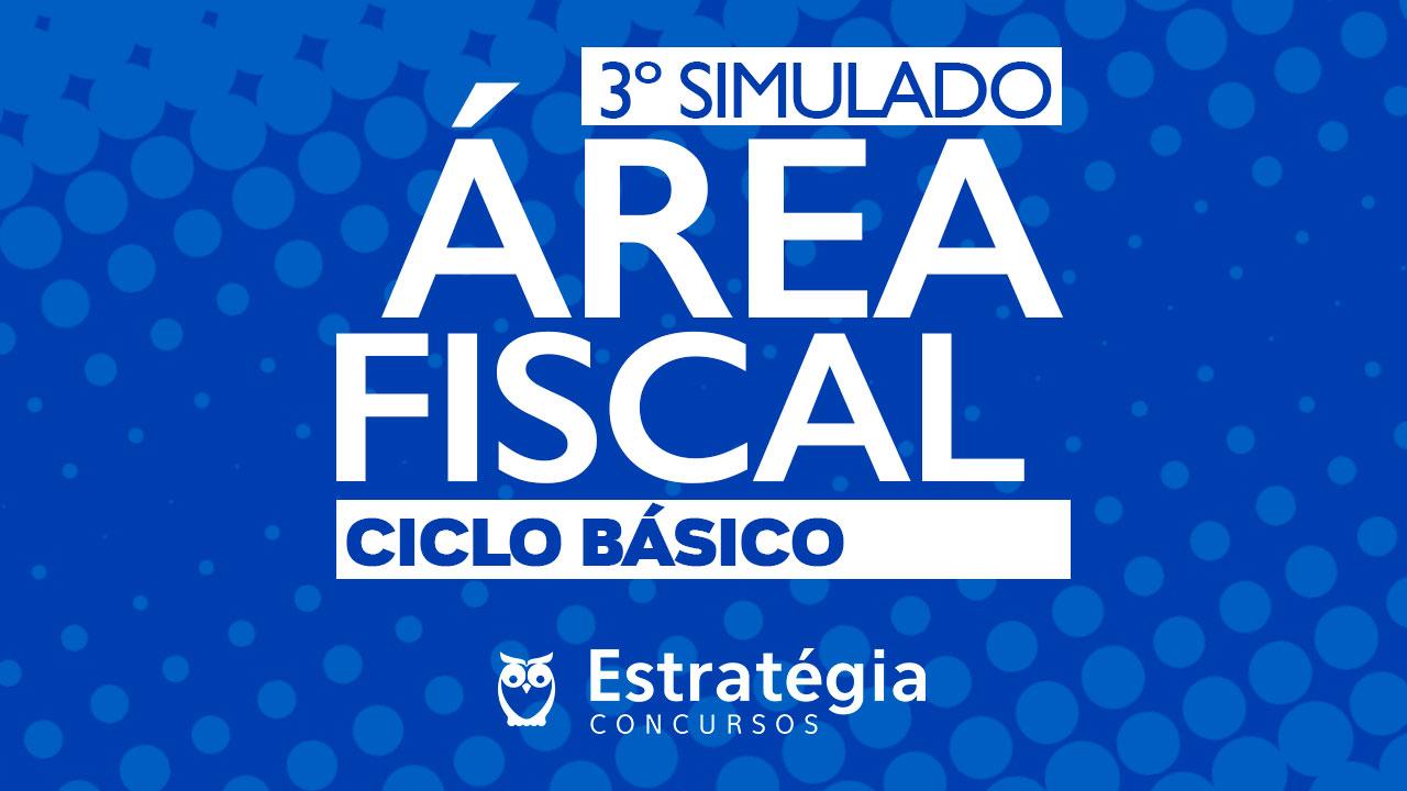 Simulado Área Fiscal