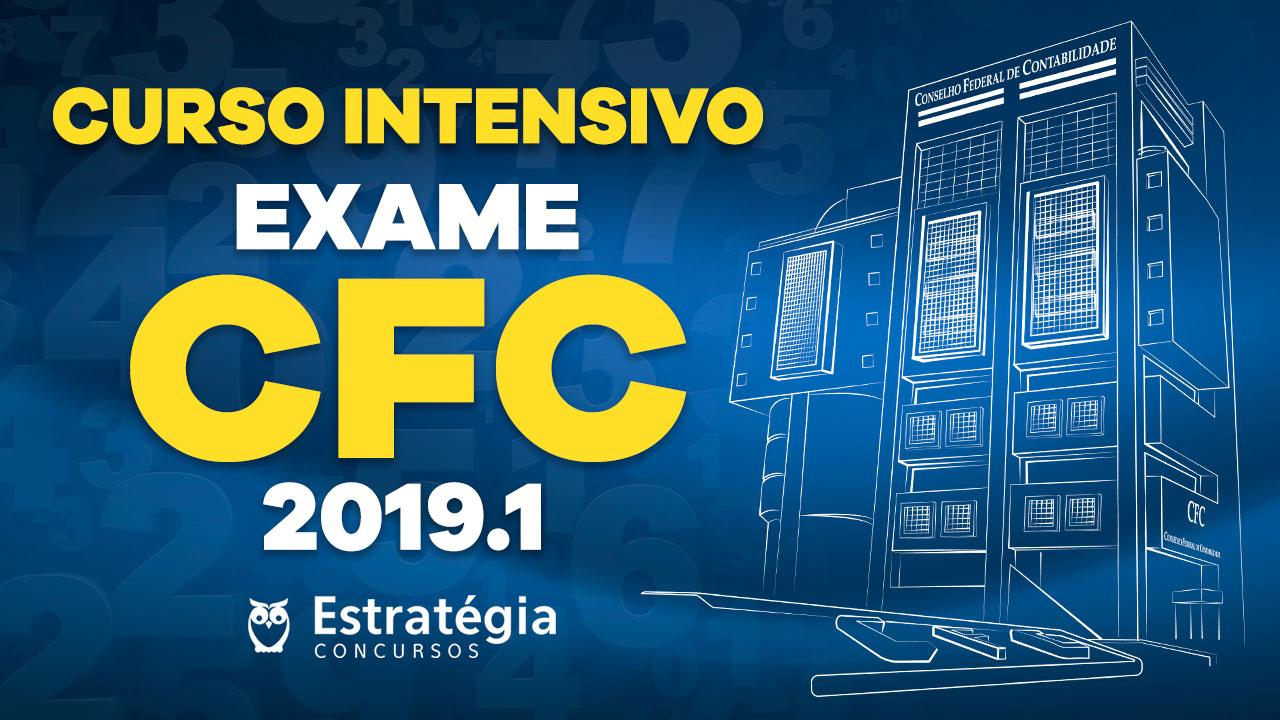 Concurso Exame CFC 2019.1