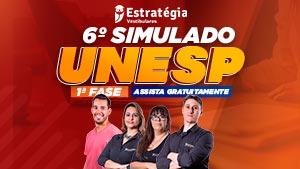 6º Simulado UNESP – 1ª FASE