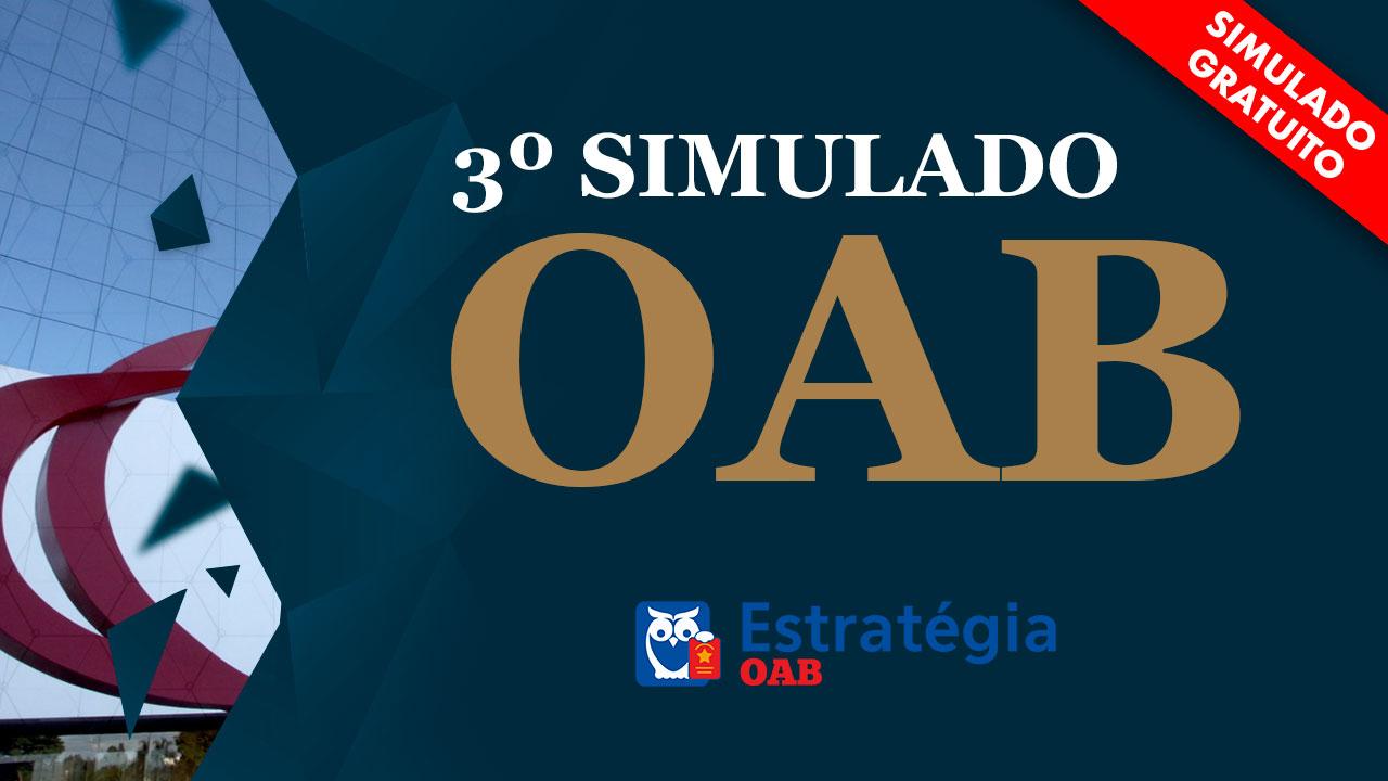 simulado oab estrategia