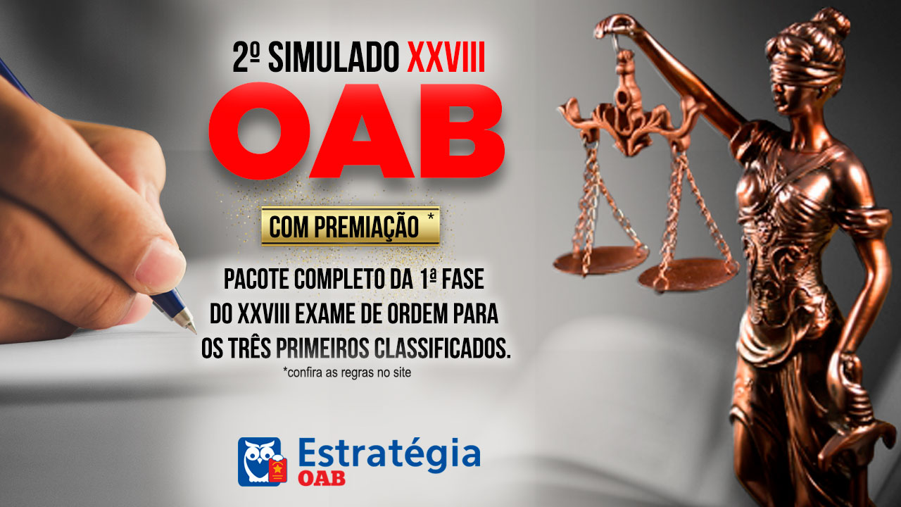 simulado oab