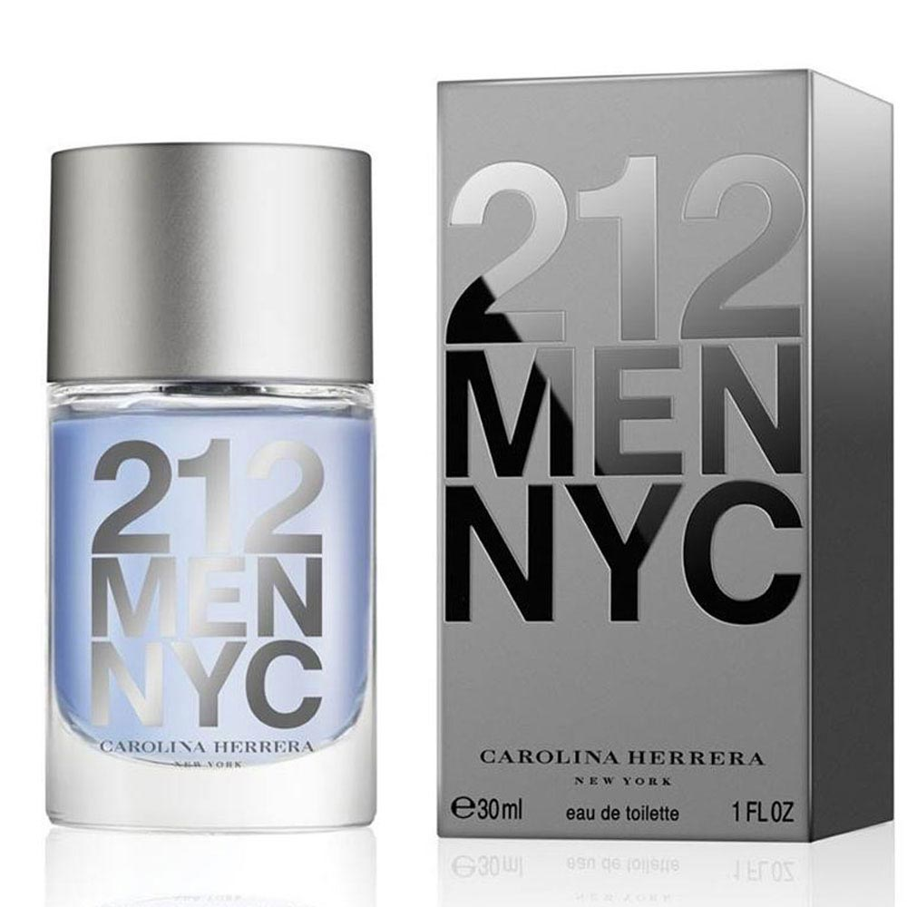 Perfume 212 Men Edt Masculino 30ml Carolina Herrera