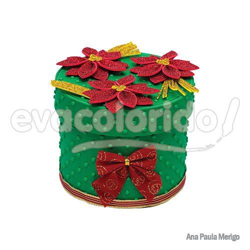 Caixa-Presente-Flores-de-Natal
